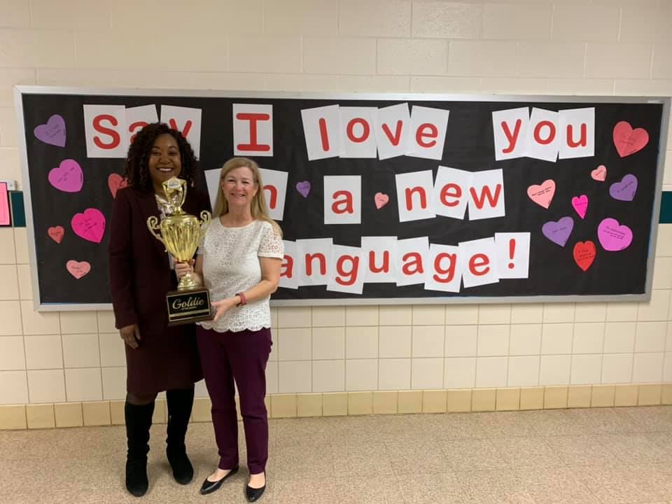 February 2019 Goldie of the Month- Mrs. Alison Davidson