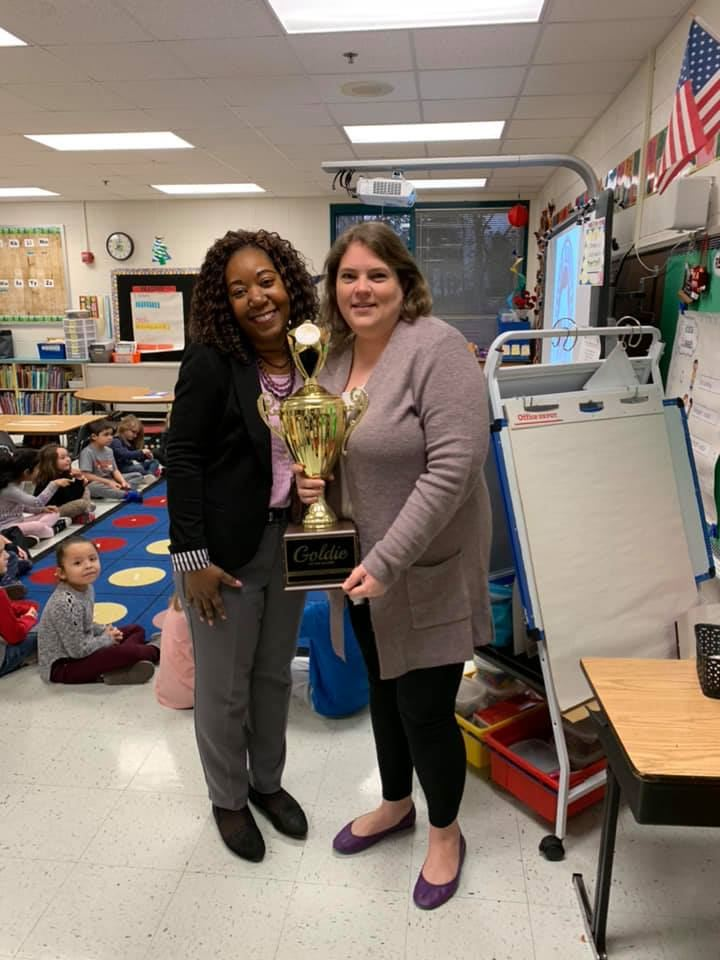 January 2019 Goldie of the Month- Mrs. Browning