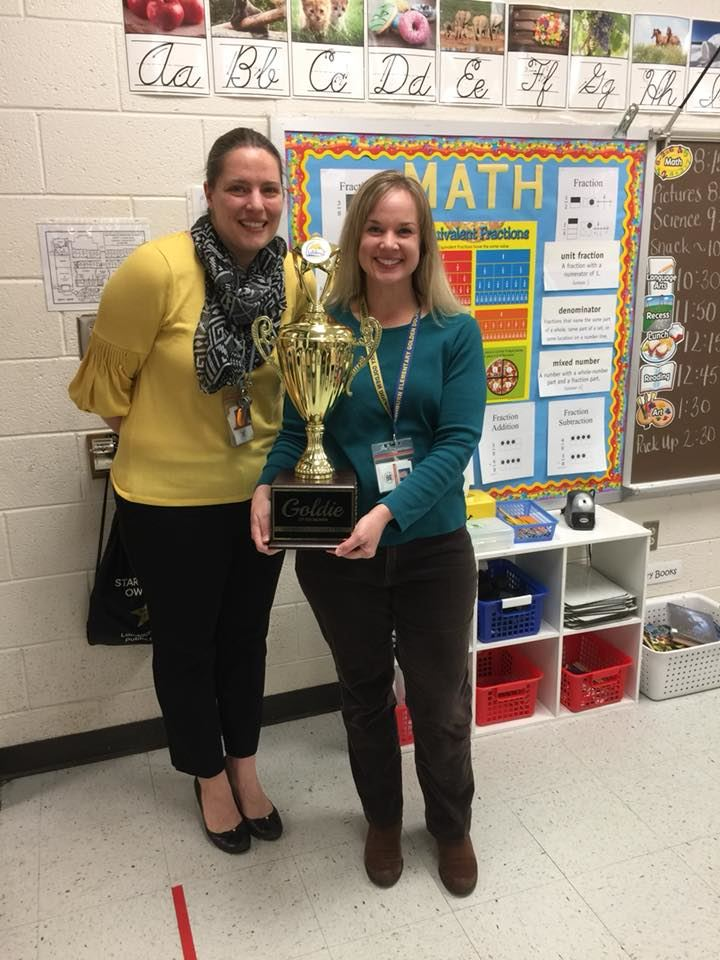 April 2018 Goldie of the Month- Melissa Weaver
