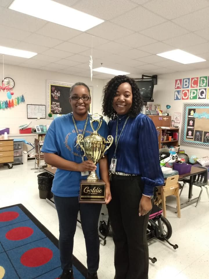 February 2020 Goldie of the Month- Ms. Corum