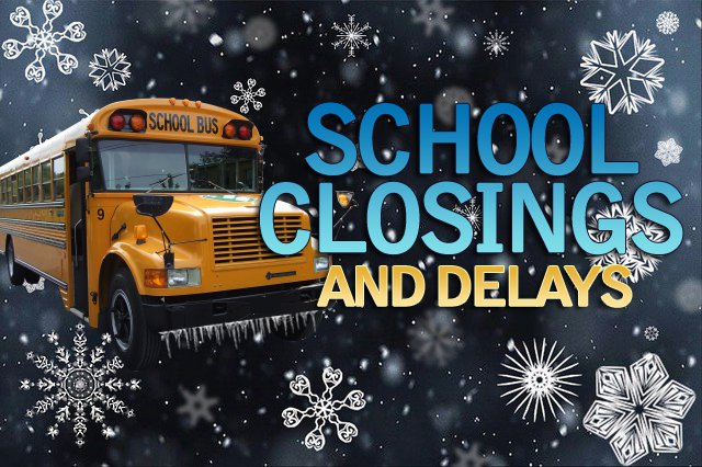 Register here for School closings and delays