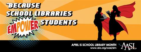 APRIL is National Library Month