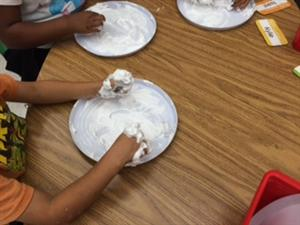 shaving cream sight words