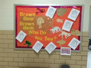 Brown Bear Bulletin Board