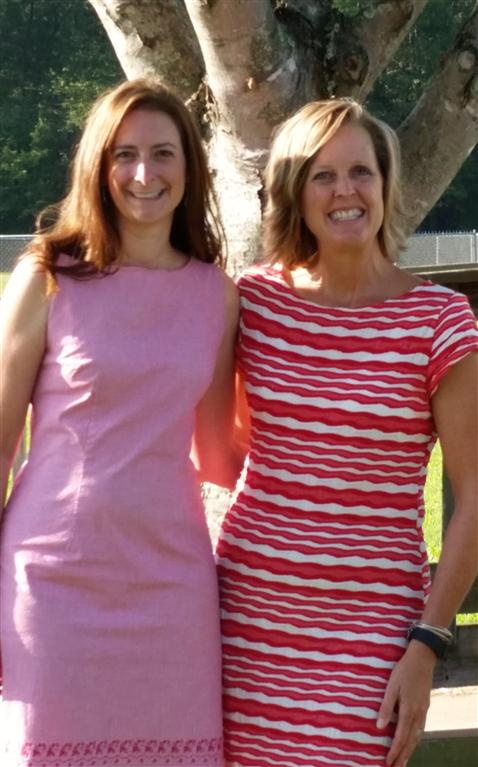 Mrs. Hendershot and Mrs. Maulfair