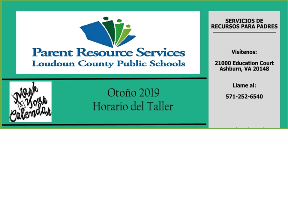 LCPS - Parent Resource Services (Spanish)
