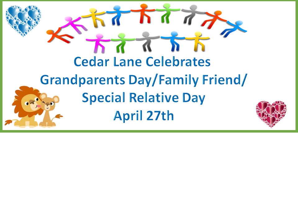 Grandparents Day/ Family Friend / Special Relative Day