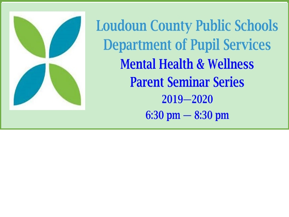 LCPS Department of Pupil Services Mental Health & Wellness