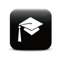 Photo: graduation cap icon