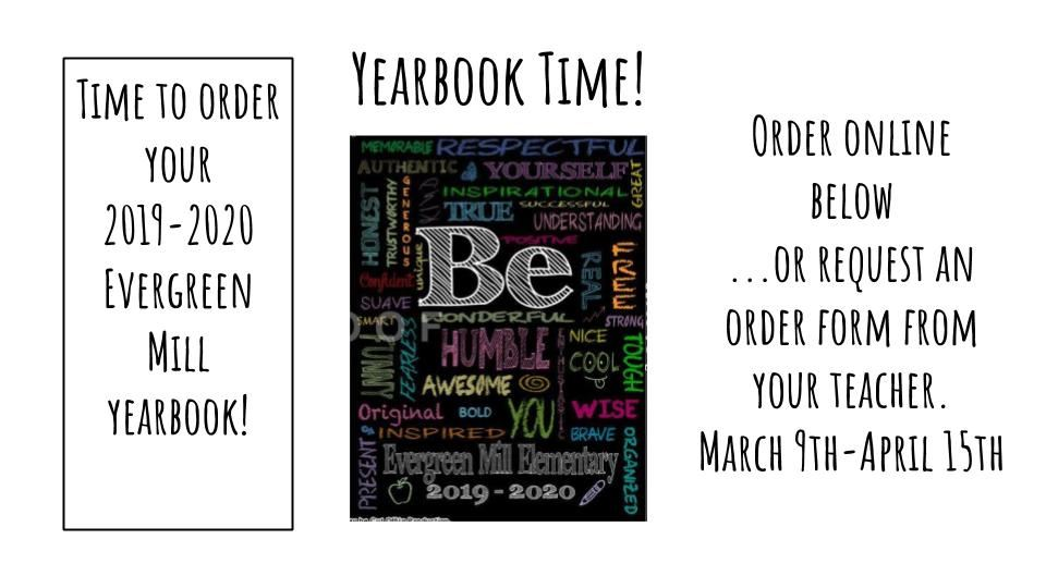 Order Yearbooks Here!