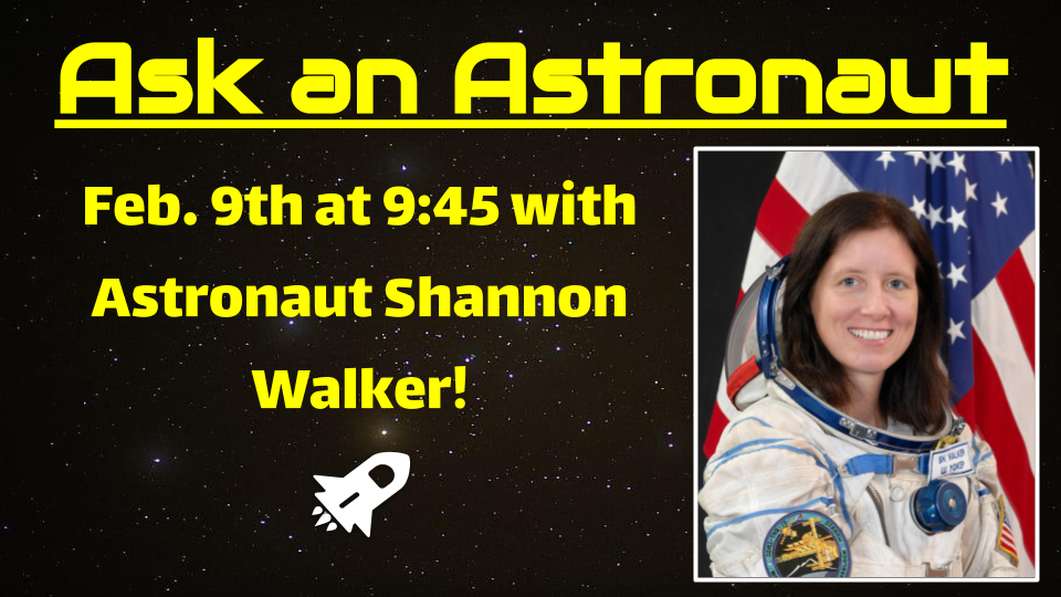 Ask an Astronaut Watch Recording Here