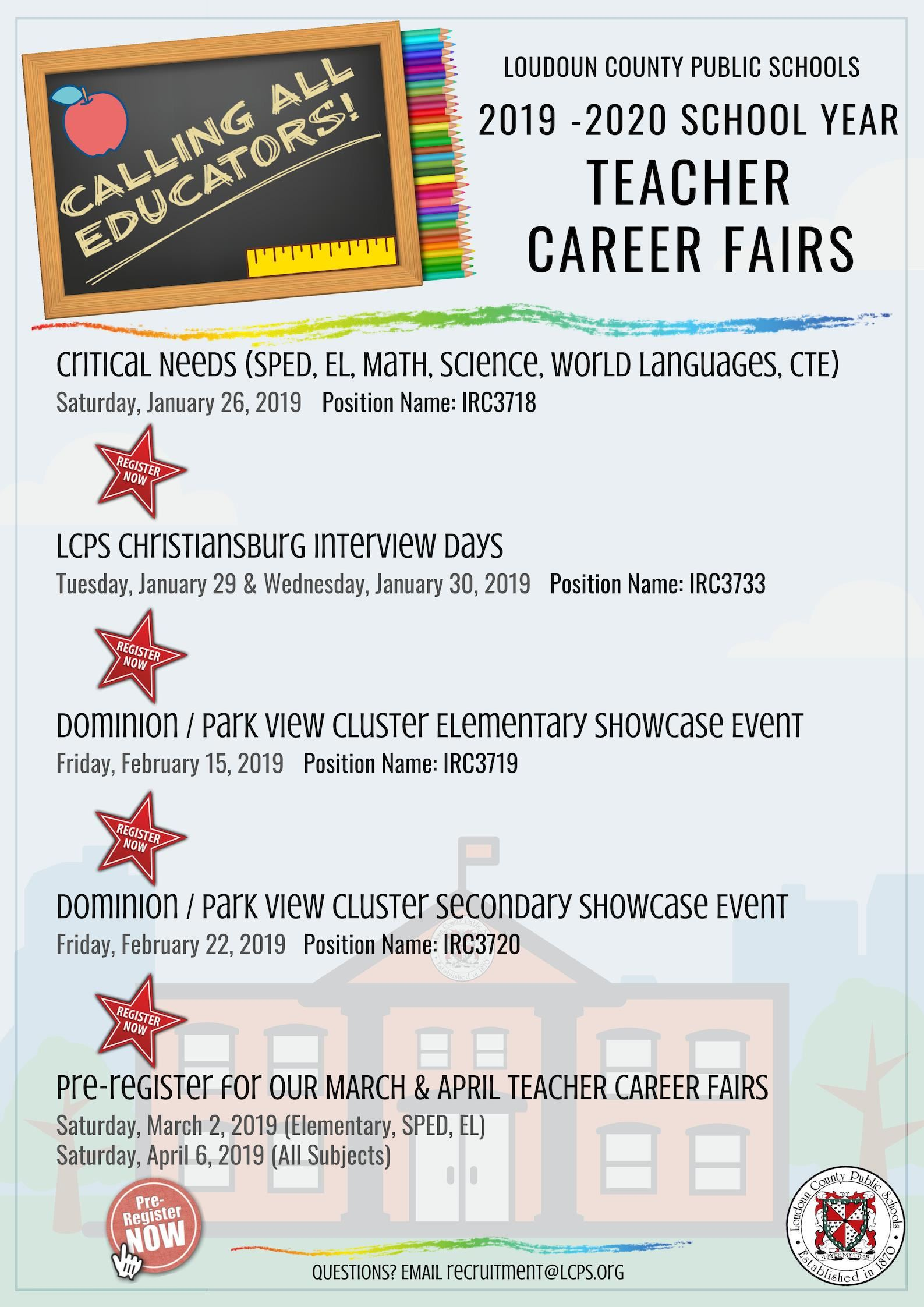 Job Opportunities Welcome