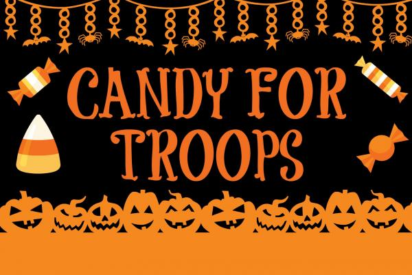 Donate your candy to the troops!