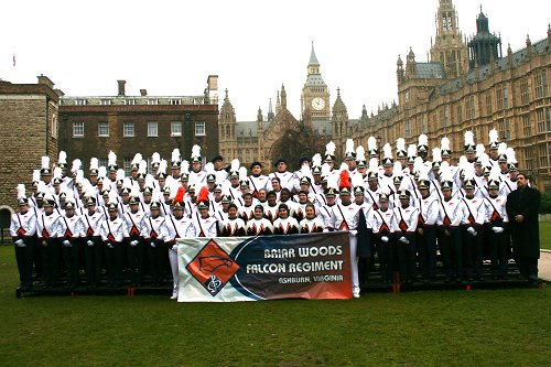 Falcon Regiment in London Parade 2011