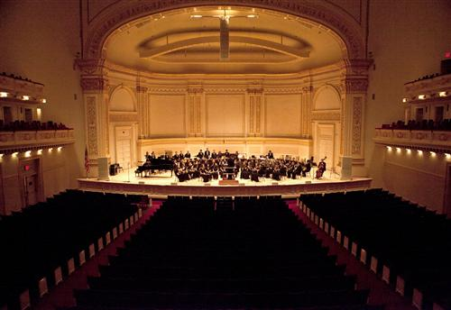 Briar Woods Symphonic Winds at Carnegie Hall 2013