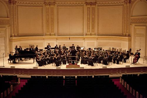 Sym. Winds at Carnegie Hall