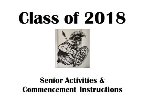 Senior Activities & Commencement Instructions