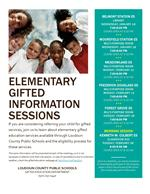 Gifted Information Sessions