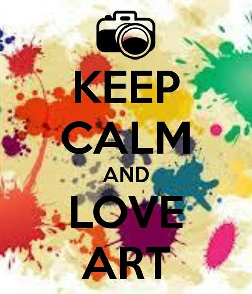 Keep Calm and Love Art