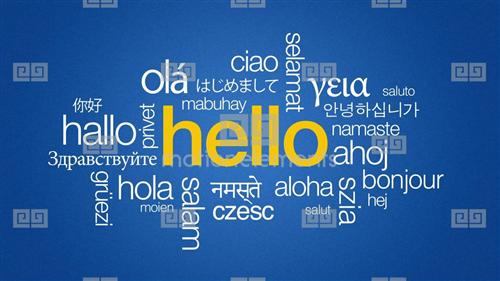 Hello in Many Languages!