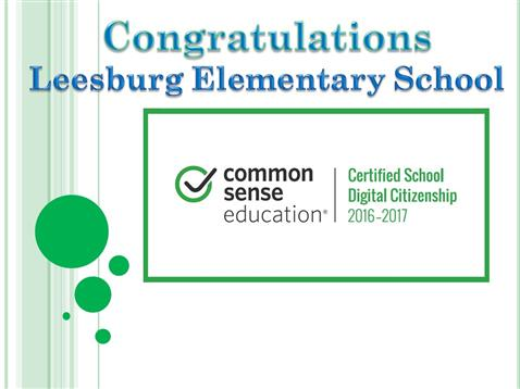 LES is a Digital Citizenship Certified School!
