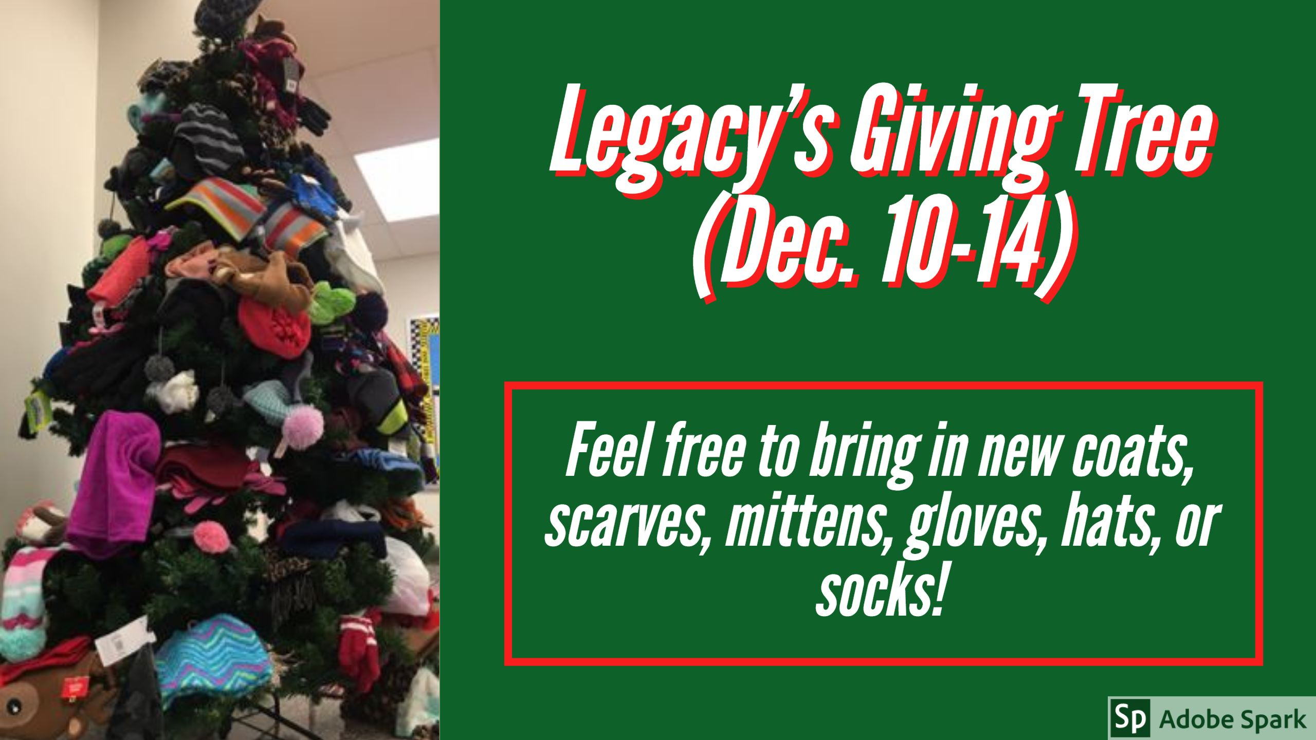 Legacy's Giving Tree
