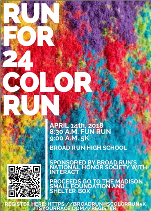 BRHS Color Run