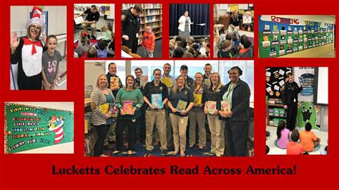 Celebrating Read Across America Week!