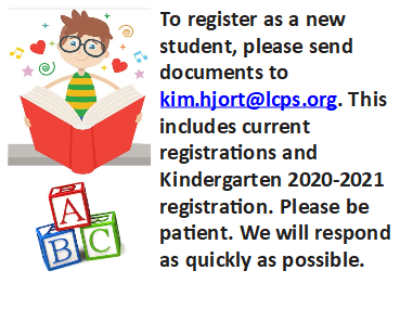 New Student / Kindergarten Registration (2020-21)