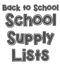 MEA School Supply List