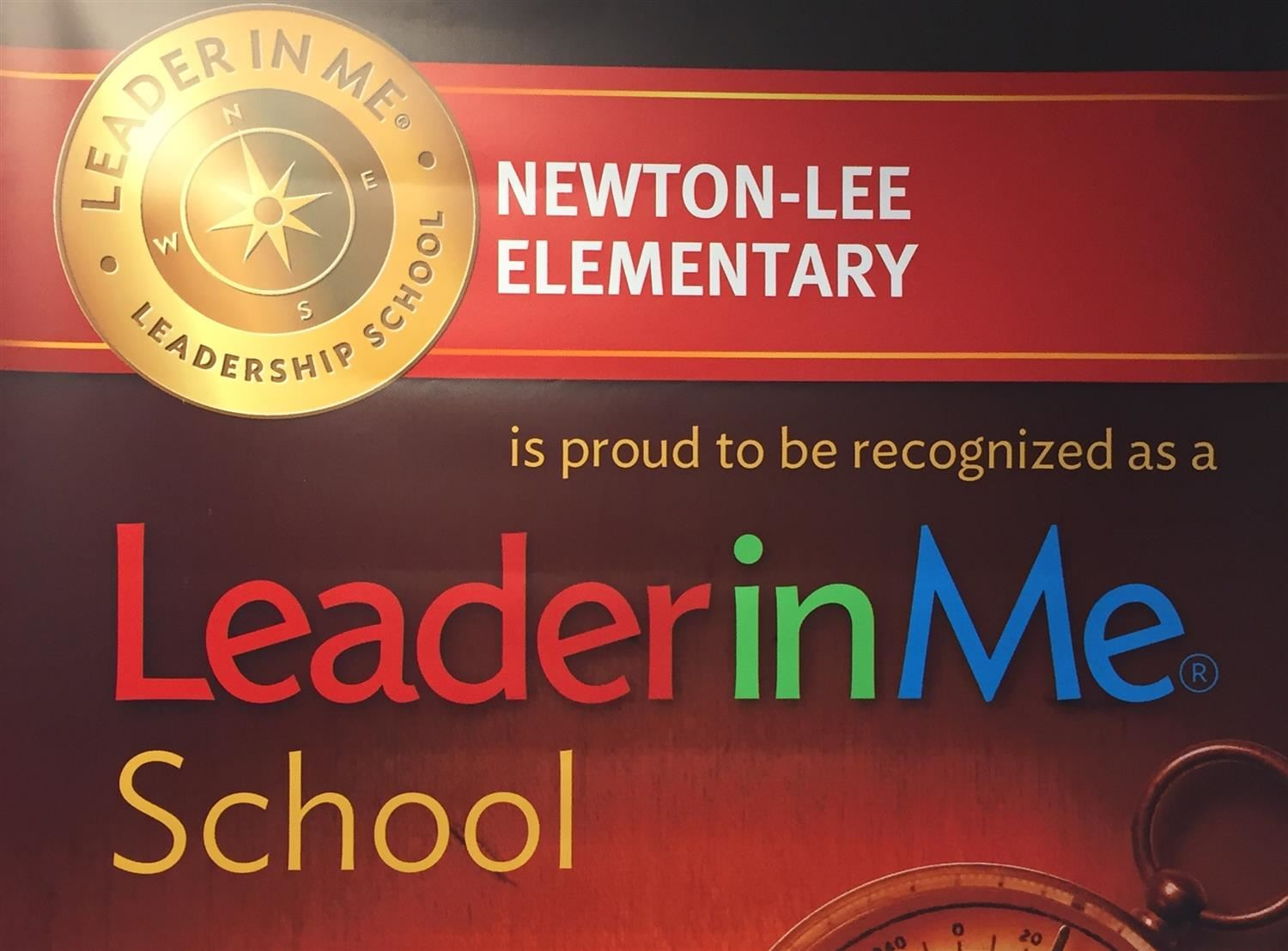 NLE is Proud to be a Leader in Me School!