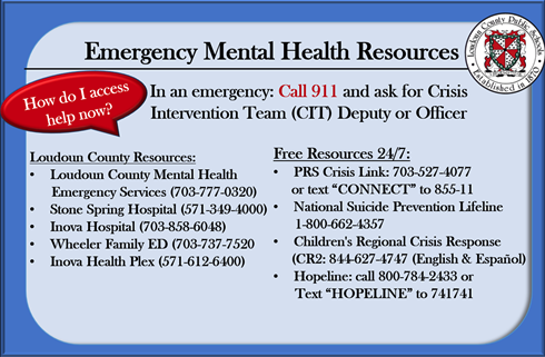 Emergency Mental Health Services