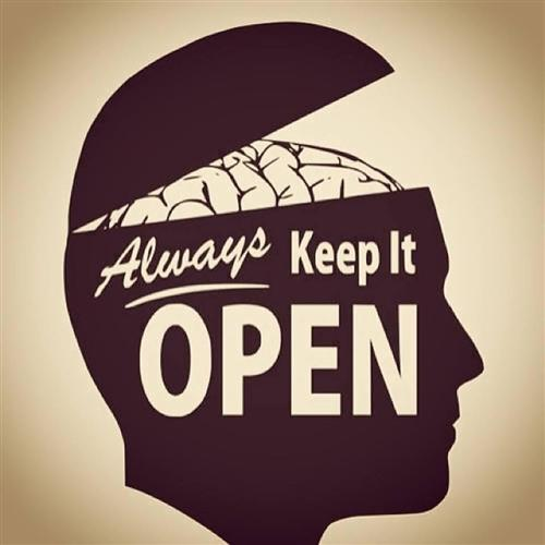 Always keep it open