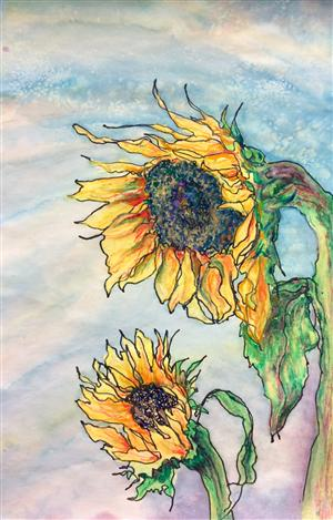 Sunflowers - Deidre Knight