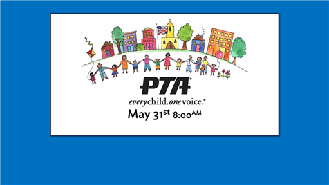 PTA Meeting, May 31st