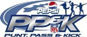 Punt, Pass, & Kick logo