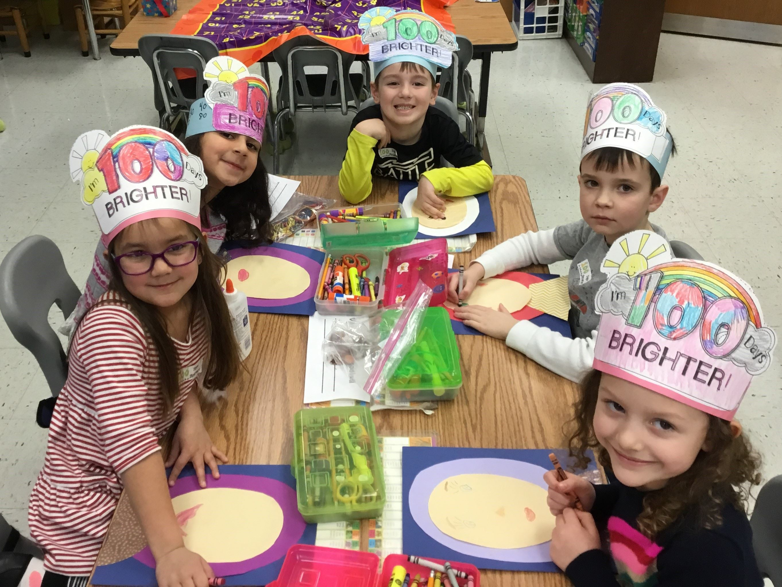 100th Day of School Means 100 Days Brighter!