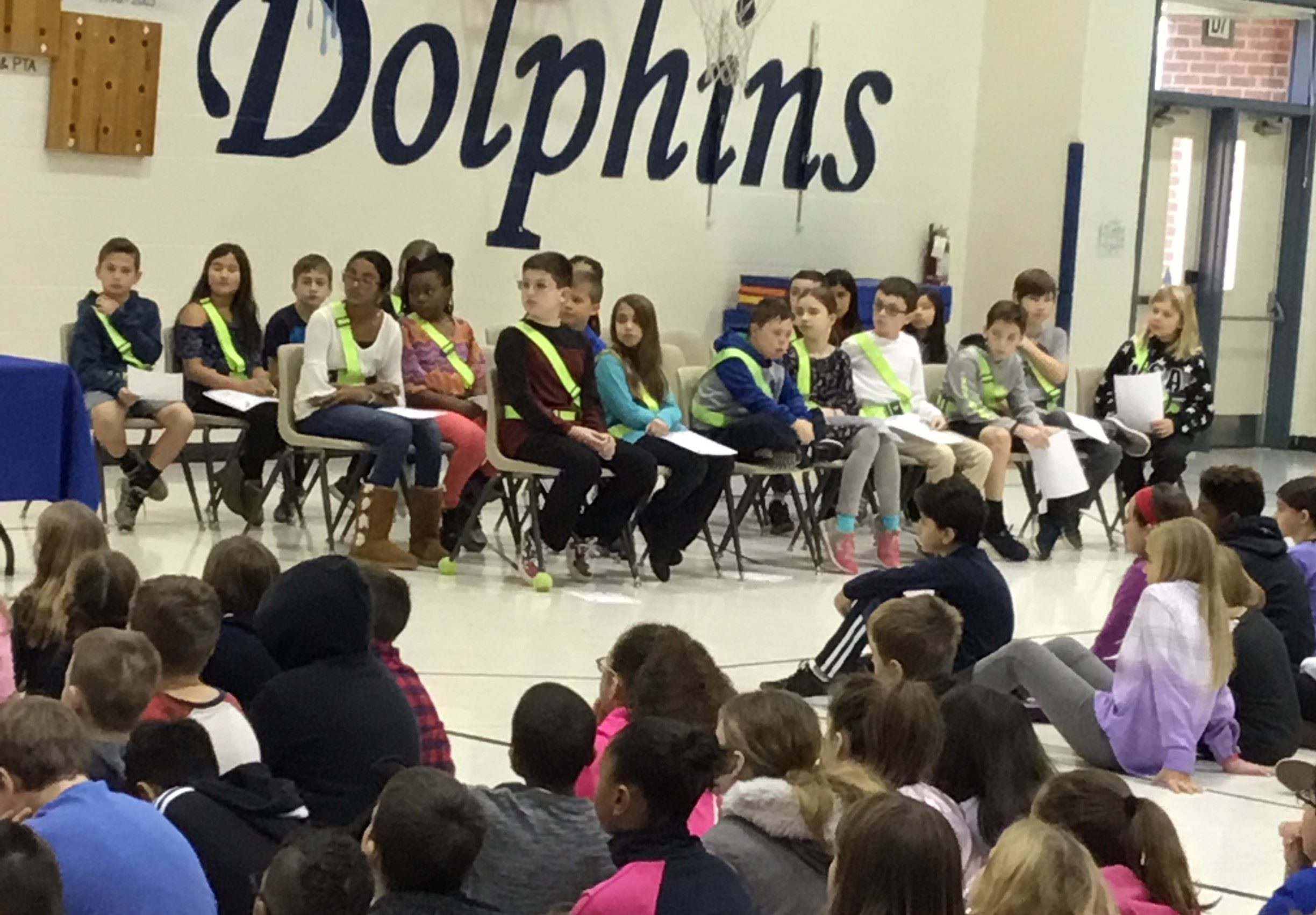 Safety Patrol Induction Ceremony