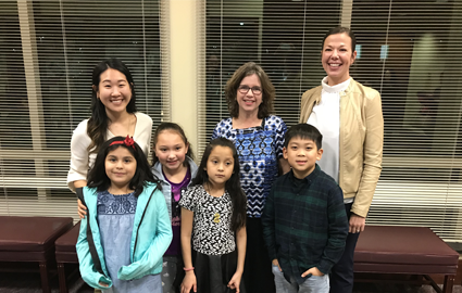 Our principal, teachers, and students were represented in a video shared at the School Board meeting. Click to check it out.