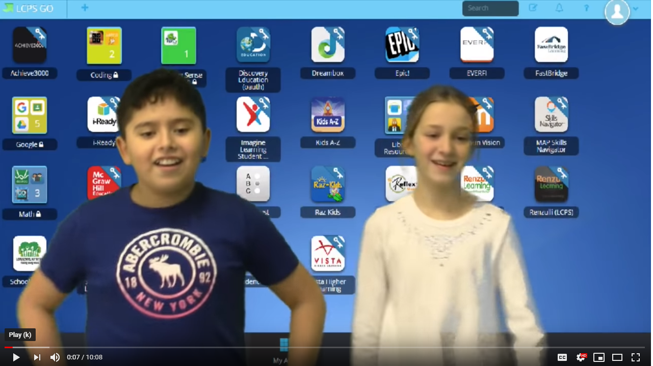 Students Created a Presentation for Digital Learning Day - Click Here!