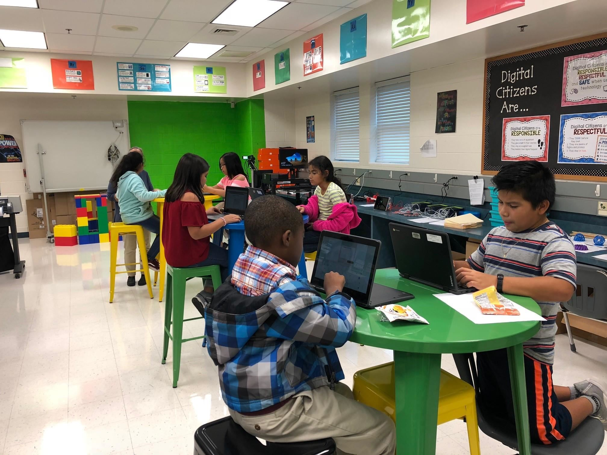 Blogging in the new STEAM lab
