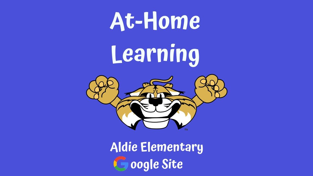 At-Home Learning Aldie Google Site