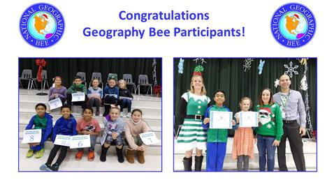 Congratulations to Our Geography Participants!