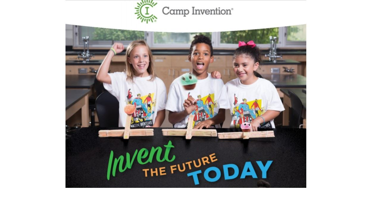 Camp Invention - Coming to Sycolin Creek this summer!