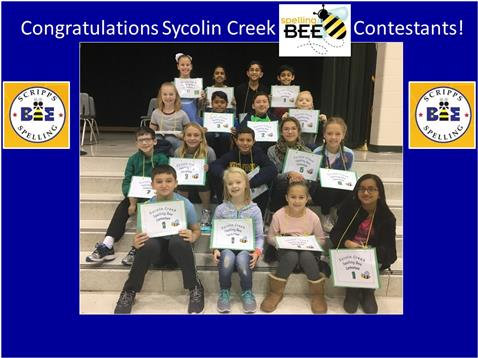 Spelling Bee January 2018