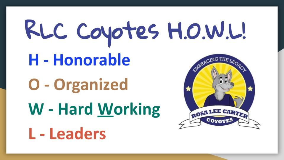 RLC Coyotes HOWL!