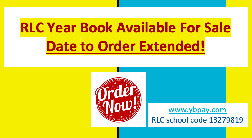 Deadline to Order Yearbooks Extended! Get Yours Today!