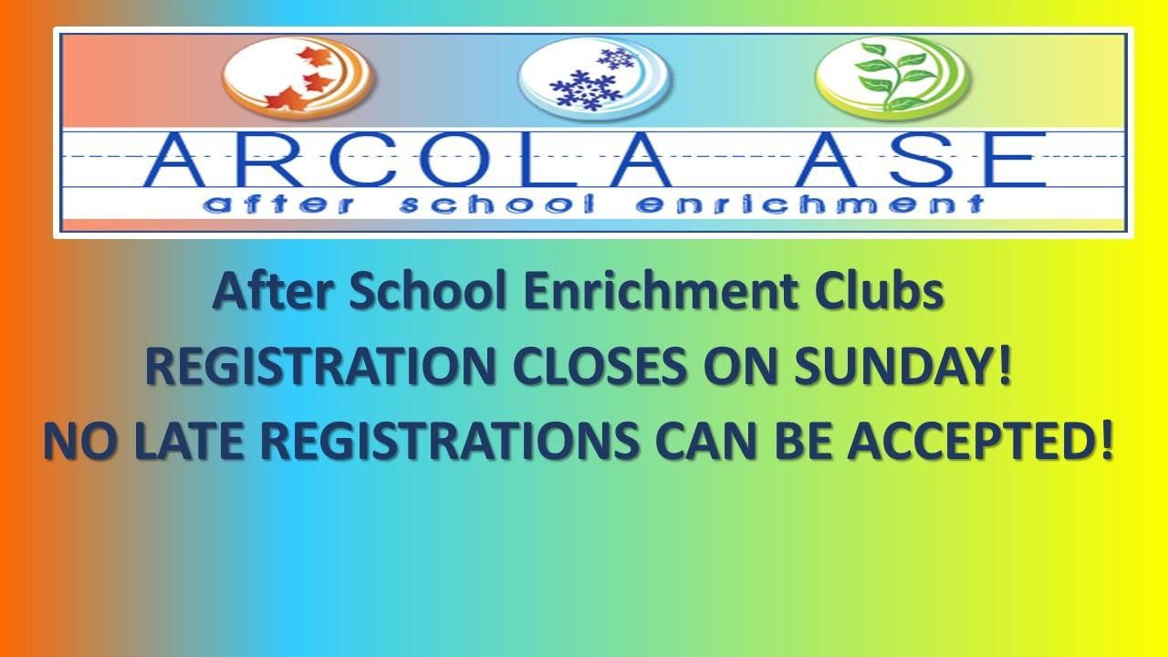 ASE Class Registration!