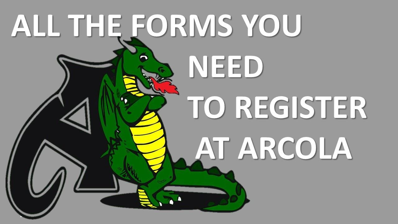 ALL THE FORMS/SUPPLY LISTS YOU NEED TO ATTEND ARCOLA