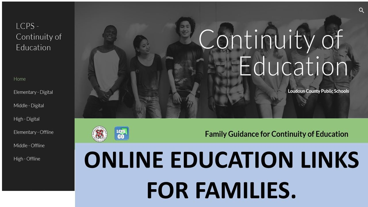SUMMER CONTINUITY OF EDUCATION WEBSITE